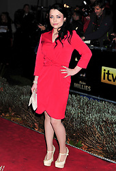 © Licensed to London News Pictures. 19/12/2011. London, England. Shona McGarty attends a Night Of Heros , the Sun Military Awards 2011 held on Monday 19th Dec at the Imperial War Museum London . the awards will be televised on Wed 21st December 2011 .  Photo credit : ALAN ROXBOROUGH/LNP