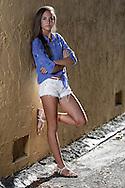 Senior photos of Katie Glenn, Class of '13.