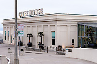 United States, California, San Francisco. The Cliff House is a restaurant on the cliffs just north of Ocean Beach.