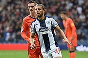 West Bromwich Albion forward Jay Rodriguez (19) during the EFL Sky Bet Championship match between West Bromwich Albion and Millwall at The Hawthorns, West Bromwich, England on 22 September 2018.