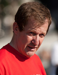 © Licensed to London News Pictures. LONDON, UK  05/07/11. Stock images of Alastair Campbell taken in Trafalgar Square today (Tuesday). Please see special instructions for usage rates. Photo credit should read Matt Cetti-Roberts/LNP
