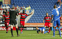 Photo: Aidan Ellis.<br /> Leicester City v Queens Park Rangers. Coca Cola Championship. 15/09/2007.<br /> Referee Lee Mason awards a penalty to Leicester after A FOUL ON DJ CAMPBELL