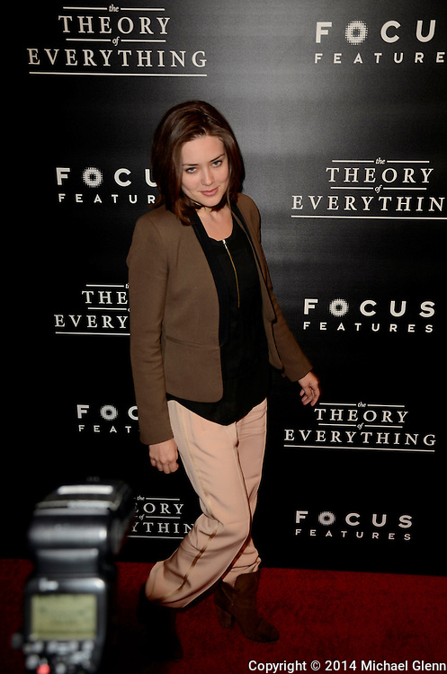 NYC, New York - October 20: Megan Boone on the red carpet for their new motion picture The Theory of Everything at Museum of Modern Art MOMA on October 20, 2014 in New York, New York. Photo Credit: Michael Glenn / Retna Ltd