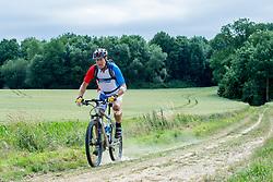 24-06-2017 NED: We Bike 2 Change Diabetes, Landgraaf<br /> Oefenweekend voor 15 deelnemers die in september de Tour de Mont Blanc gaan doen.