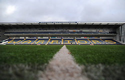 General view of Sixways Stadium- Mandatory by-line: Nizaam Jones/JMP - 01/12/2018 - RUGBY - Sixways Stadium - Worcester, England - Worcester Valkyries v Saracen Women- Tyrrells Premier 15s
