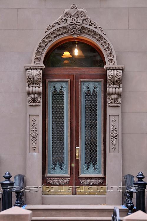 Door in Brooklyn.