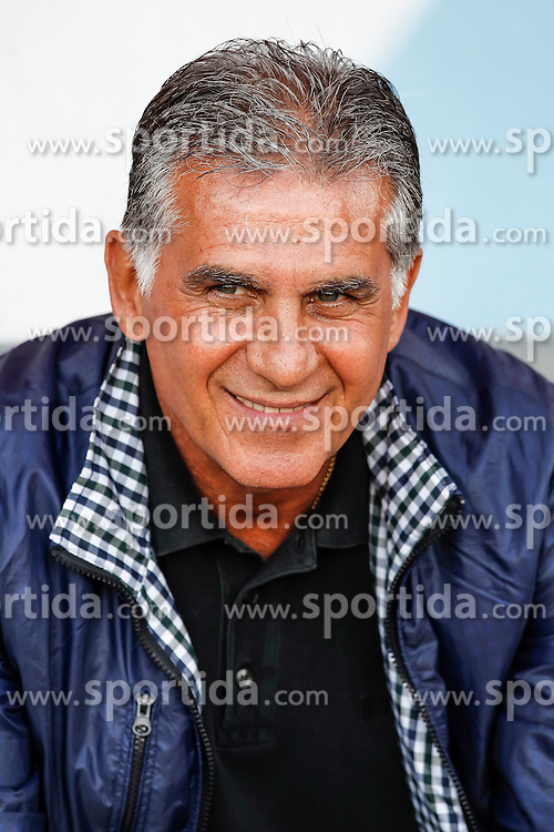 26.05.2014, Hartberg Stadion, Hartberg, AUT, FIFA WM, Testspiel, Iran vs Montenegro, im Bild Carlos Queiroz (Trainer Iran) // Carlos Queiroz (Trainer Iran) during friendly match between Iran and Montenegro for Preparation of the FIFA Worldcup Brasil 2014 at the Hartberg Stadium, Hartberg, Austria on 2014/05/26, EXPA Pictures © 2014, PhotoCredit: EXPA/ Erwin Scheriau