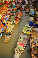 A traditional thoroughfare and market in Thailand