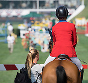 ATCO Founders Classic 1.50 M September 7, 2017 during Spruce Meadows Masters in Calgary, Alberta, Canada. Rebecca Berry