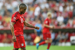 04.08.2015, Allianz Arena, Muenchen, GER, AUDI CUP, Real Madrid vs Tottenham Hotspur, im Bild Douglas Costa (FC Bayern Muenchen #11) // during the 2015 AUDI Cup Match between Real Madrid CF and Tottenham Hotspur at the Allianz Arena in Muenchen, Germany on 2015/08/04. EXPA Pictures © 2015, PhotoCredit: EXPA/ Eibner-Pressefoto/ Schüler<br /> <br /> *****ATTENTION - OUT of GER*****
