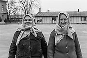 To women which were living as refugees from Bosnia in the Varazdin refugee camp in Croatia in the winter of 1992.