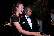 KATE GOLDSMITH; DAVID TANG, The Ormeley dinner in aid of the Ecology Trust and the Aspinall Foundation. Ormeley Lodge. Richmond. London. 29 April 2009