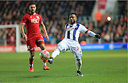 Stephane Sessegnon during the The FA Cup Third Round Replay match between Bristol City and West Bromwich Albion at Ashton Gate, Bristol, England on 19 January 2016. Photo by Daniel Youngs.