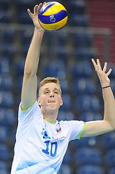 Saso Stalekar during the European Championship game Russia - Slovenia on August 26, 2017 in Krakow, Poland. (Photo by Krzysztof Porebski / Press Focus)