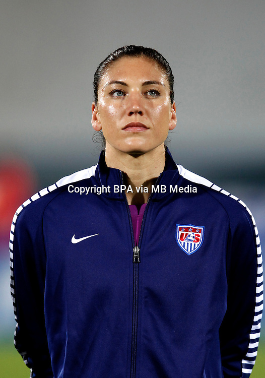 Fifa Womans World Cup Canada 2015 - Preview //<br /> Algarve Cup 2015 Tournament ( Vila Real San Antonio Sport Complex - Portugal ) - <br /> Norway vs Usa 1-2 , Hope Solo of Usa