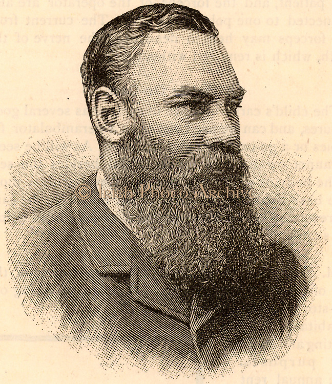 William Gilbert ('W G') Grace (1848-1915) English first-class cricketer and physician, born at Downend near Bristol. His career lasted from 1864-1908.  Engraving from 'Cassell's Family Magazine' (London, 1891).