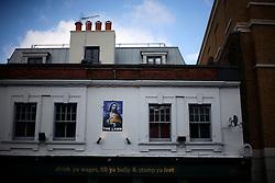 UK ENGLAND LONDON 1MAY12 - Pub sign at The Lamb pub in Islington, North London......jre/Photo by Jiri Rezac....© Jiri Rezac 2012