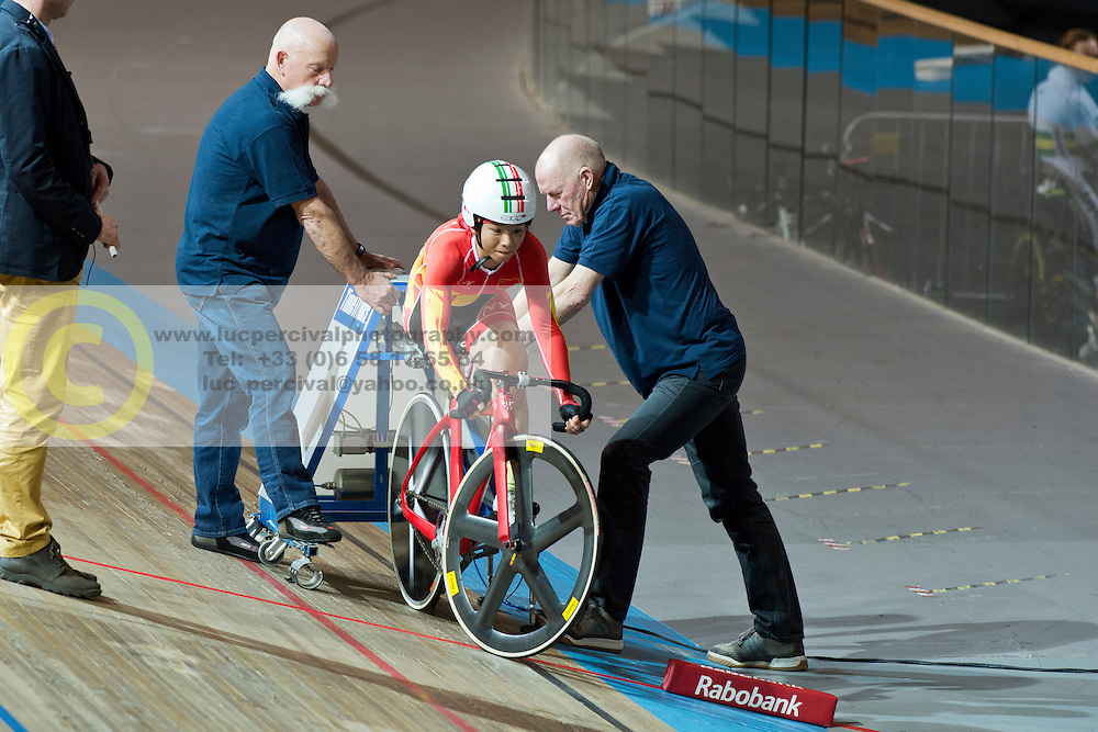 , CHN, 500m TT, 2015 UCI Para-Cycling Track World Championships, Apeldoorn, Netherlands
