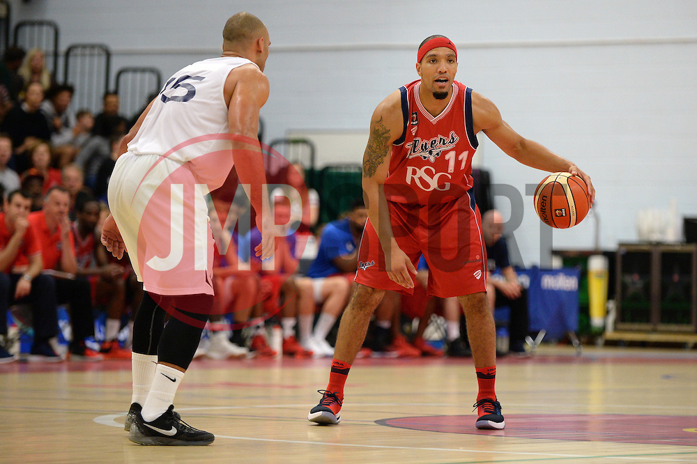 Greg Streete of theBristol Flyers - Photo mandatory by-line: Dougie Allward/JMP - 17/09/2016 - BASKETBALL - SGS Wise Arena - Bristol, England - Bristol Flyers v Worcester Wolves - Exhibition Game