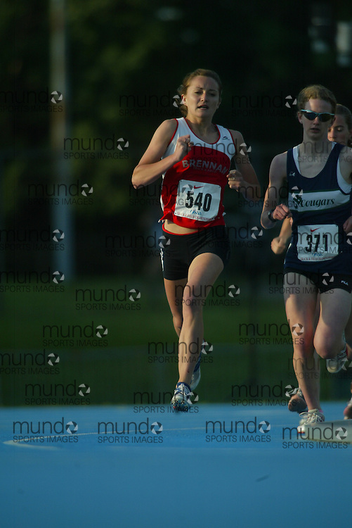 Ottawa, Ontario ---07/06/07--- Holly Benson competes at the 2007 OFSAA track and field championships in Ottawa, Ontario, June 7, 2007..GEOFF ROBINS