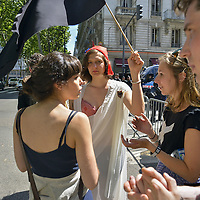 Francois Rebsamen In Visit In Lyon