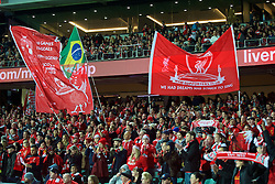 ADELAIDE, AUSTRALIA - Monday, July 20, 2015: Liverpool supporters banners before a preseason friendly match against Adelaide United at the Adelaide Oval on day eight of the club's preseason tour. (Pic by David Rawcliffe/Propaganda)