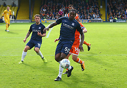 September 30, 2017 - Southend, England, United Kingdom - Nile Ranger of Southend United.during Sky Bet League one match between Southend United against Blackpool at  Roots Hall,  Southend on Sea England on 30 Sept  2017  (Credit Image: © Kieran Galvin/NurPhoto via ZUMA Press)