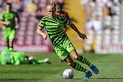 Forest Green Rovers Joseph Mills(23) runs forward during the EFL Sky Bet League 2 match between Bradford City and Forest Green Rovers at the Utilita Energy Stadium, Bradford, England on 24 August 2019.