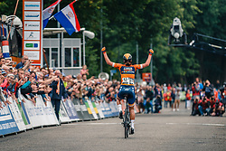 Chantal Blaak of Boels Dolmans Cycling Team wins 2017 National Road Race Championships Netherlands for Women Elite, Montferland, The Netherlands, 24 June 2017. Photo by Pim Nijland / PelotonPhotos.com | All photos usage must carry mandatory copyright credit (Peloton Photos | Pim Nijland)