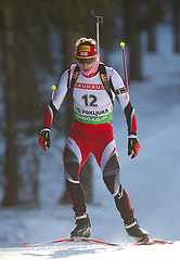 Christoph Sumann of Austria during the Men 20 km Individual of the e.on IBU Biathlon World Cup on Thursday, December 16, 2010 in Pokljuka, Slovenia. The fourth e.on IBU World Cup stage is taking place in Rudno Polje - Pokljuka, Slovenia until Sunday December 19, 2010.  (Photo By Vid Ponikvar / Sportida.com)
