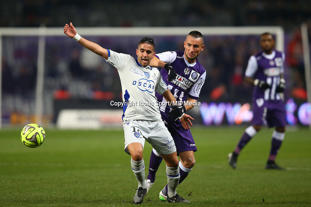 Ryad Boudebouz - 17.01.2015 - Toulouse / Bastia - 21eme journee de Ligue 1<br />Photo : Manuel Blondeau / Icon Sport