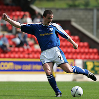St Johnstone FC season 2004-05<br />Chris Hay<br />Picture by Graeme Hart.<br />Copyright Perthshire Picture Agency<br />Tel: 01738 623350  Mobile: 07990 594431