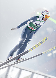 February 8, 2019 - Lahti, Finland - Killian Peier participates in FIS Ski Jumping World Cup Large Hill Individual training at Lahti Ski Games in Lahti, Finland on 8 February 2019. (Credit Image: © Antti Yrjonen/NurPhoto via ZUMA Press)