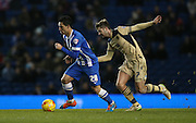Beram Kayal, Brighton midfielder during the Sky Bet Championship match between Brighton and Hove Albion and Leeds United at the American Express Community Stadium, Brighton and Hove, England on 24 February 2015.