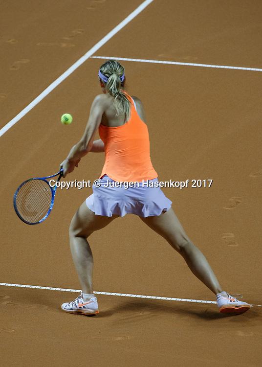 MARIA SHARAPOVA (RUS)<br /> <br /> Tennis - Porsche  Tennis Grand Prix 2017 -  WTA -  Porsche-Arena - Stuttgart -  - Germany  - 27 April 2017.