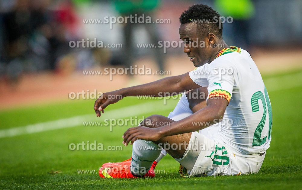 26.05.2014, Kufstein Arena, Kufstein, AUT, FIFA WM, Testspiel, Mazedonien vs Kamerun, im Bild Fabrice Olinga (Kamerun) // Fabrice Olinga (Kamerun) during friendly match between Macedonia and Cameroon for Preparation of the FIFA Worldcup Brasil 2014 at the Kufstein Arena in Kufstein, Austria on 2014/05/26. EXPA Pictures © 2014, PhotoCredit: EXPA/ JFK