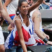 NLD/Amsterdam/20120804 - Canalparade tijdens de Gaypride 2012, Manuela Loth