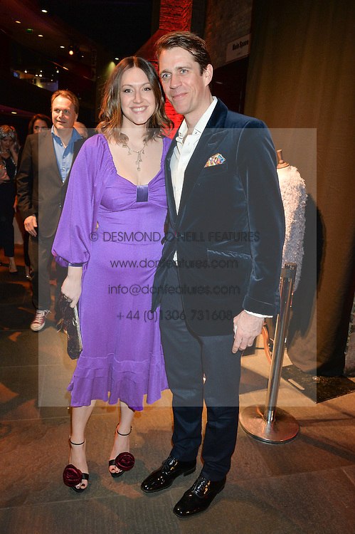 BEN ELLIOT and his wife MARY CLARE ELLIOT at a Night of Disco in aid of Save The Children held at The Roundhouse, Chalk Farm Road, London on 5th March 2015.