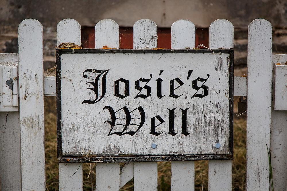 Josie's Well, the water source for The Glenlivet Distillery in Glenlivet, Ballindaloch, Scotland, July 11, 2015. Gary He/DRAMBOX MEDIA LIBRARY
