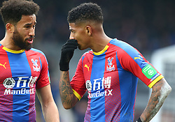 December 30, 2018 - London, England, United Kingdom - London, England - 30 December, 2018.L-R Crystal Palace's Andros Townsend and Crystal Palace's Patrick van Aanholt.during Premier League between Crystal Palace and Chelsea at Selhurst Park stadium , London, England on 30 Dec 2018. (Credit Image: © Action Foto Sport/NurPhoto via ZUMA Press)