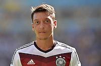FUSSBALL WM 2014                VIERTELFINALE Frankreich - Deutschland           04.07.2014 Mesut Oezil (Deutschland)