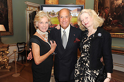 A party to promote the exclusive Puntacana Resort & Club - the Caribbean's Premier Golf & Beach Resort Destination, was held at Spencer House, London on 13th May 2010.<br /> <br /> Picture shows:- DIANA HARARI, OSCAR DE LA RENTA and LADY WEIDENFELD