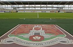 The uncompleted stand at Sixfields, home of Northampton Town - Mandatory byline: Robbie Stephenson/JMP - 07966 386802 - 10/10/2015 - FOOTBALL - Sixfields Stadium - Northampton, England - Northampton Town v Hartlepool - Sky Bet League Two