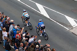 VIVIANI Elia from ITALY wins Men Elite Road Race 2019 UEC European Road Championships, Alkmaar, The Netherlands, 11 August 2019. <br /> <br /> Photo by Pim Nijland / PelotonPhotos.com <br /> <br /> All photos usage must carry mandatory copyright credit (Peloton Photos | Pim Nijland)