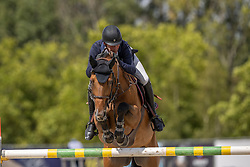 Williams Guy, GBR, Rouge De Ravel<br /> CSI 3* Azelhof - Lier 2020<br /> © Hippo Foto - Dirk Caremans<br /> 26/07/2020