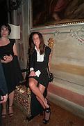 CINZI BEDIN, Andrea Dibelius of the EMDASH Foundation hosts party to celebrate the Austrian Pavilion and artist Mathias Poledna at the Venice Biennale. Palazzo Barbaro, Venice. 30 May 2013<br /> <br /> <br /> Venice. Venice Bienalle. 28 May 2013