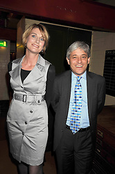 Speaker of the House of Commons JOHN BERCOW and his wife SALLY at the launch of the Imperial War Museum's 70th anniversary commemorating the outbreak of World War 11 held at the Cabinet War Rooms, Whitehall, London on 2nd September 2009.