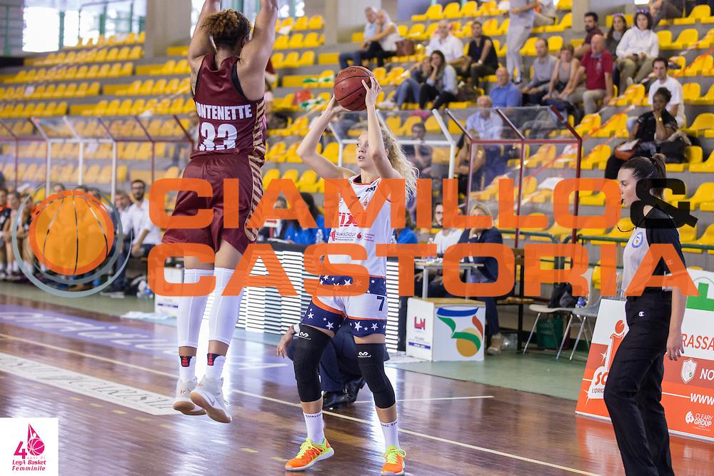 Martina Kacerik <br /> Umana Reyer Venezia Fixi Piramis Torino<br /> LegA Basket Femminile 2016/2017<br /> Lucca, 02/10/2016<br /> Foto Elio Castoria/Ciamillo-Castoria