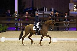 Cool Isabel, (BEL), Cheatodon<br /> Int I Freestyle Test<br /> CDI 4* Azelhof Lier 2015<br /> © Hippo Foto - Leanjo de Koster