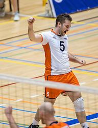 05-06-2016 NED: Nederland - Duitsland, Doetinchem<br /> Nederland speelt de laatste oefenwedstrijd ook in  Doetinchem en speelt gelijk 2-2 in een redelijk duel van beide kanten / Dirk Sparidans #5